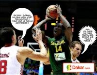 Gorgui Sy Dieng a été l'un des principaux artisans de la victoire du Sénégal contre Croatie en Coupe du monde de basketball