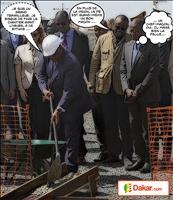 Le président Macky Sall a lancé les travaux de seconde génération du pôle urbain de Diamniadio