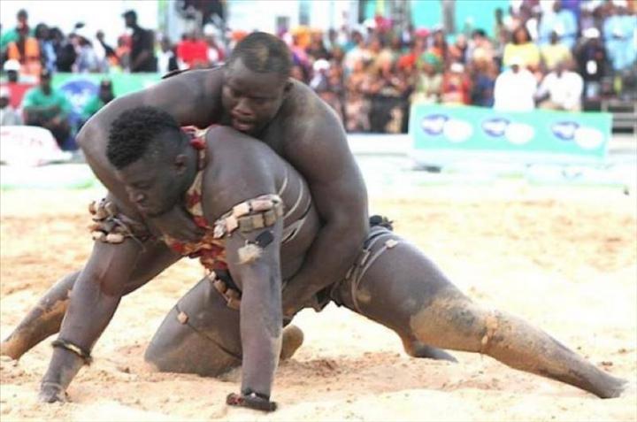 Lutte s n galaise eumeu s ne a domin balla gaye 2 for Interieur sport lutte senegalaise