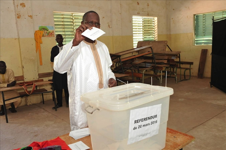 Référendum constitutionnel du sénégal fermeture officielle des